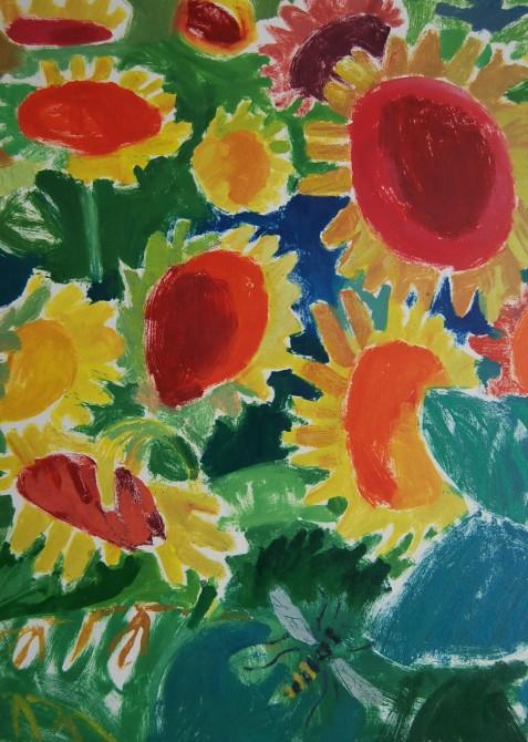 7. Sunflower Parade